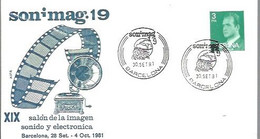 MATASELLOS 1981 BARCELONA - 1981-90 Storia Postale