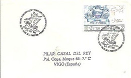 MATASELLOS 1982 PALOS DE LA FRONTERA - 1981-90 Storia Postale