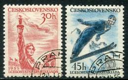 CZECHOSLOVAKIA 1955 National Spartakiad  Used.  Michel 890-91 - Used Stamps