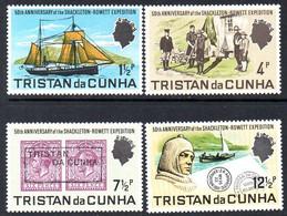 Tristan Da Cunha 1971 Shackleton Rowett Expedition Anniversary Set Of 4, MNH, SG 149/52 - Tristan Da Cunha