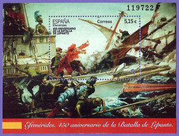 España. Spain. 2021. HB. Efemérides. 450 Aniversario Batalla De Lepanto - 2011-... Nuovi & Linguelle
