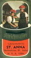 Oud Etiket Kirschwasser - Likeurstokerij / Distillerie St Anna Te Aalst - Other