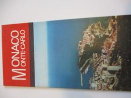 Dépliant Touristique Ancien En Français-Anglais /MONACO /Monte Carlo/Pavillon De La Principauté De Monaco/Expo 67   DT42 - Dépliants Turistici