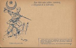 CARTE  FRANCHISE  MILITAIRE /  EMPRUNT  DE  LA  LIBÉRATION  /  TIRAILLEUR  /  Georges  SCOTT - Andere