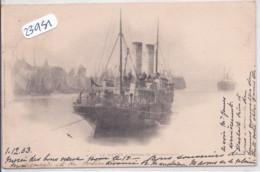 LE HAVRE- BATEAU DE SOUTHAMPTON - Harbour