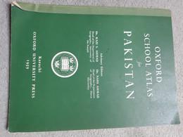 Oxford School Atlas For Pakistan 1959 - Altri
