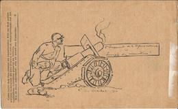 CARTE  FRANCHISE  MILITAIRE  / Correspondance Des Armées De La République  / Illustration De G. Cochet / Soldat Et Canon - Andere