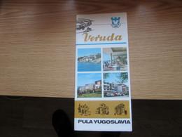 Veruda Pula Yugoslavia - Dépliants Turistici