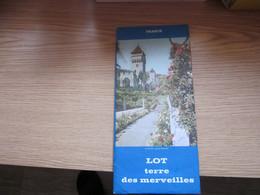 France Lot Terre Des Merveilles - Dépliants Turistici