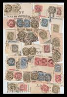 TB Lot De 75 Timbres De La Série Fine Barbe / Fragments. TOUS Avec De Très Belles Oblitérations - 1893-1900 Fine Barbe