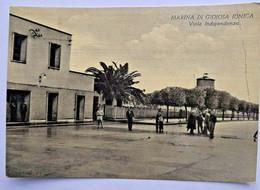 489) MARINA DI GIOIOSA JONICA REGGIO CALABRIA CARTOLINA VIAGGIATA 11.7.60 - Reggio Calabria