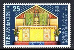 Tristan Da Cunha 1973 St. Mary's Church, MNH, SG 176 - Tristan Da Cunha