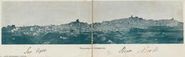 314-Caltagirone-Catania-Sicilia-Panorama-DOPPIA VEDUTA--Ed.Luigi Montemagno-v.1917 X Roma - Catania