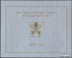 Vatikanstadt 2020 Stgl./unzirkuliert Amtlicher Kursmünzensatz 2020 Euro-Nachauflage - Vatikan