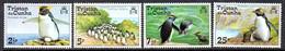 Tristan Da Cunha 1974 Rockhopper Penguins Set Of 4, MNH, SG 188/91 - Tristan Da Cunha