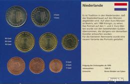 Niederlande 2006 Stgl./unzirkuliert Kursmünzensatz 2006 EURO Nachauflage - Niederlande