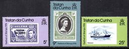 Tristan Da Cunha 1976 Festival Of Stamps Set Of 3, MNH, SG 204/6 - Tristan Da Cunha