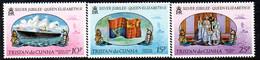 Tristan Da Cunha 1977 Royal Silver Jubilee Set Of 3, MNH, SG 212/4 - Tristan Da Cunha