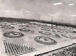 STADE STRAHOV STADIUM - PRAGUE / PRAHA : SECOND NATIONAL SPARTAKIADE - 1960 - REAL PHOTO 13 X 18 CM (ai139) - Sport