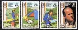 Tristan Da Cunha QEII 1981 Duke Of Edinburgh's Award Set Of 4, MNH, SG 311/4 - Tristan Da Cunha