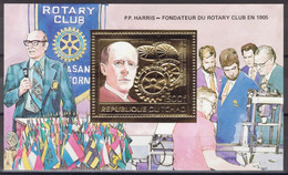 Tchad - Bloc - BF - Mi 213 ** MNH - 1985 - Rotary Club - P.P. Harris - Tsjaad (1960-...)