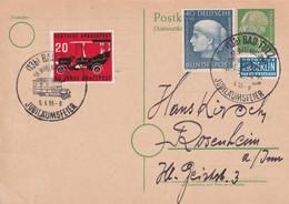 BUND 1955   ENTIER POSTAL/GANZSACHE/POSTAL STATIONERY CARTE DE BAD TÖLZ - Postkarten - Gebraucht