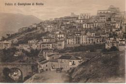 318-Castiglione Di Sicilia-Catania-Panorama-Ed.G. Tizzone - Catania