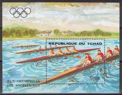 Tchad - Bloc - BF - YT 47 ** MNH - 1984 - Jeux Olympiques De Los Angeles - Aviron - Tsjaad (1960-...)