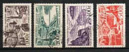 Col24 France Poste Aérienne N° 24 à 27 Oblitéré  Cote 21,50 Euro - 1927-1959 Afgestempeld