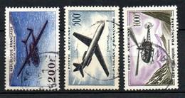 Col24 France Poste Aérienne N° 31 36 & 37 Oblitéré  Cote 32,00 Euro - 1927-1959 Afgestempeld