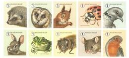 BELGIUM, 2019, Booklet 169, Accordionbooklet, Animals, 50x1 - Markenheftchen 1953-....
