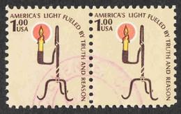 United States - Scott #1610 Used - Pair - Gebraucht