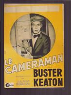 LE CAMERAMAN BUSTER KEATON - Plakate Auf Karten