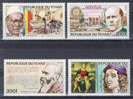 Tchad - YT 436-439 ** MNH - 1984 - Tsjaad (1960-...)