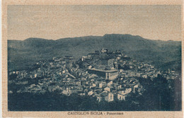 321-Castiglione Di Sicilia-Catania-Panorama-Ed.Eis-v.1940 X Catania - Catania