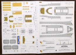 Costruzioni Carta Da Ritagliare - Modellismo Navale - Troyburg - Anni '70 - Non Classificati