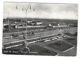 11.648 -  FORTE DEI MARMI LUCCA PIAZZALE PANORAMICO ANIMATA 1960 - Altre Città
