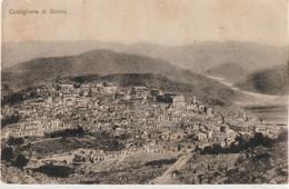322-Castiglione Di Sicilia-Catania-(Panorama)Senza Editore N°0136 Al Verso-v.1917 X S.G.La Punta - Catania