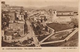 323-Castiglione Di Sicilia-Catania-Villa Littoria,Panorama-Senza Editore-v.1939 X Messina - Catania