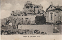 324-Castiglione Di Sicilia-Catania-(Castello-Ed.Garioni-Piacenza-v.1927 X Siracusa - Catania