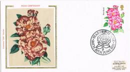 42110. CArta BATH (England) 1976, Año De La ROSA, Flowers, Flores. Year Of Yhe Rose - Covers & Documents