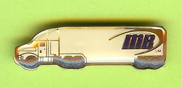 Pin's Camion MB - 5BB04 - Transportation