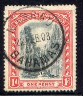 BAHAMAS, NO. 33, WMK 1 ... - 1859-1963 Crown Colony