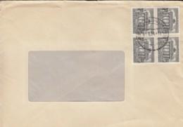 BERLIN 4x 42 4erBlock MeF Auf Brief Mit Stempel: Berlin-Waidmannslust 11.5.1954 - Briefe U. Dokumente