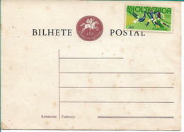 Portugal , Olympic Games Munich 1972 , Football , Soccer, Stamp On Stationery Card - Estate 1972: Monaco