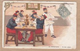 Au Réfectoire Un Rata Soigné - Kazerne