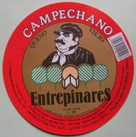 Etiquette Grand Fromage - CAMPECHANO - Vazquez De Menchaca Valladolid Export - Espagne   A Voir ! - Cheese