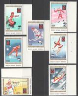 N903 1984 MONGOLIA SPORT OLYMPIC GAMES SARAJEVO 84 1SET MNH - Invierno 1984: Sarajevo