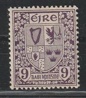 IRLANDE - N°49 ** (1922-24) Série Courante - 9p Violet - Unused Stamps
