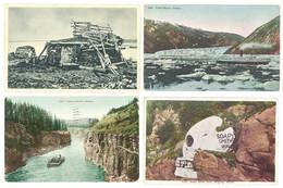 4 Cpa Alaska, Miles Canyon, Taku Glacier, Soapy Smith Skull, Fleuve Yukon, ... ( S. 7516 ) - Autres